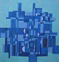 Blue abstract 2